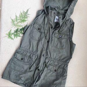 Mudd Olive Green Vest